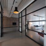 4 manieren om staal te verwerken in het interieur van een kantoor